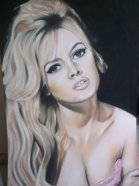 Brigitte Bardot by ricopainting